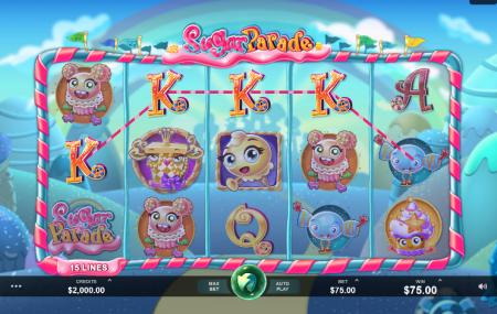 Sugar Parade slot symbols