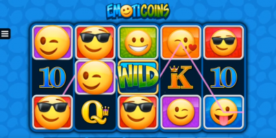 Emoticoins slot symbols