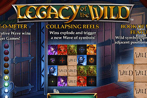 Legacy of the Wild slot review
