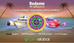 Redeem the Dream slot by Aspire Global