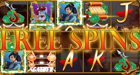 Empress of the Jade Sword slot features