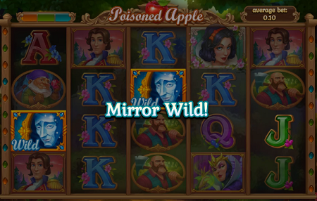 Poisoned Apple slot features