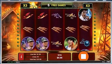 Fantasy Mission Force slot symbols