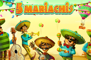 5 Mariachis slot review