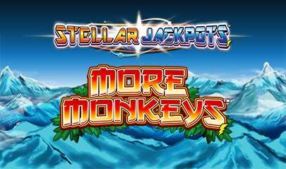 More Monkeys Stellar Jackpots logo big