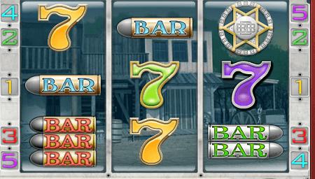Big Bang Buckaroo slot symbols