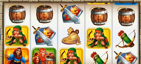 Cash of Kingdoms slot symbols