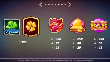 Casino Win Spin slot symbols