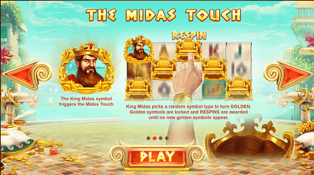 Midas Gold slot features
