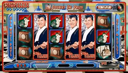 Ritchie Valens La Bamba slot symbols