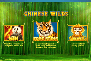 Chinese Wilds slot review