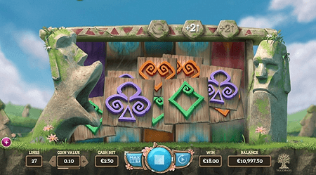 Easter Island slot features