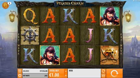 Pirate's Charm Slot Game - Quickspin - Review & Rating