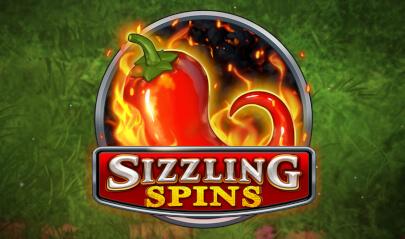 Sizzling Spins logo big