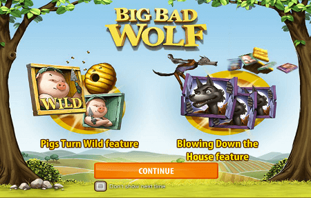 Big Bad Wolf slot features