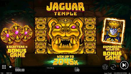 Jaguar Temple slot features