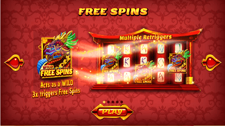 Asian Fortune slot features