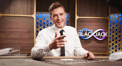 Evolution Gaming Live Infinite Blackjack review