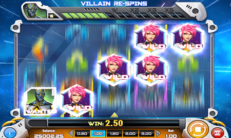 Iron Girl slot features