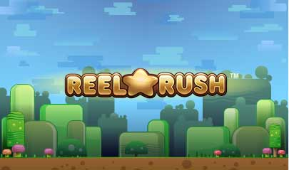 Reel Rush logo big