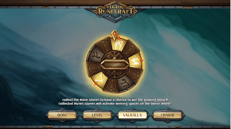 Viking Runecraft slot features