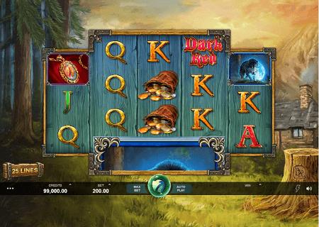 Wicked Tales Dark Red slot symbols