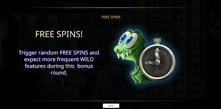 Forest Mania slot features