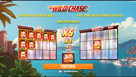 The Wild Chase slot features