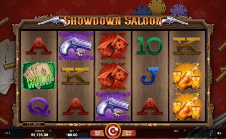 Showdown Saloon slot symbols