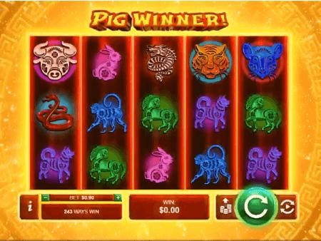 Pig Winner slot symbols