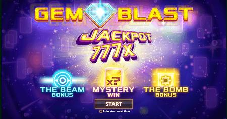 Gem Blast slot features