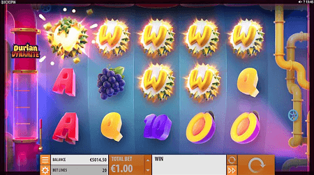 Durian Dynamite slot slot features