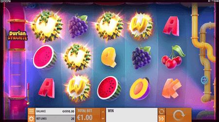 Durian Dynamite slot slot symbols