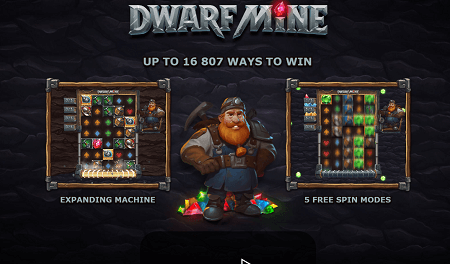 Dwarf Mine slot features