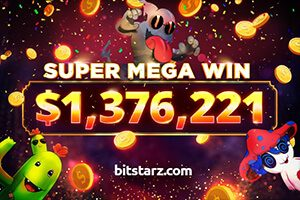 Player wins $1.37 Million at BitStarz on Slotomon Go slot