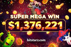 Player wins $1.37 Million at BitStarz on Slotomon Go slot