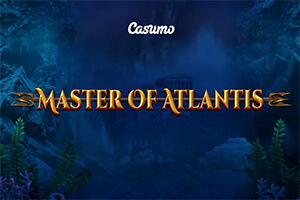 Casumo Casino Launches Master of Atlantis slot exclusively