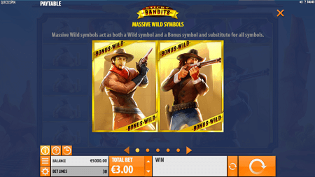 Sticky Bandits slot features