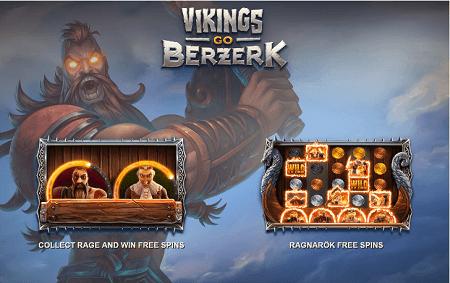 Vikings Go Berzerk slot features