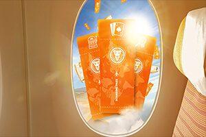 LeoVegas Casino gives away 280 flight vouchers