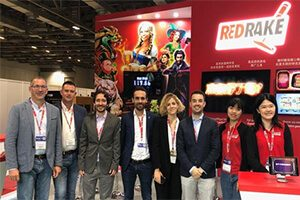 Red Rake Gaming Exhibited at G2E Asia, Ready to Enter the Market