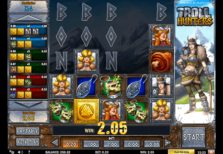 Troll Hunters slot features