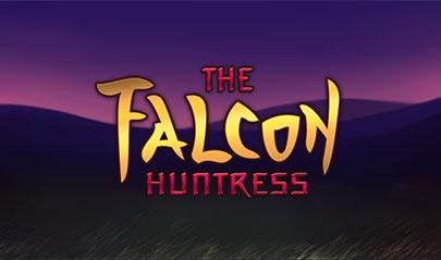 The Falcon Huntress logo big