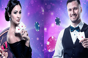 Join Genesis Casino and get up to $100 live casino welcome bonus