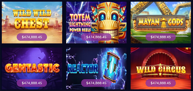 Must Fall Jackpot Slots Collection