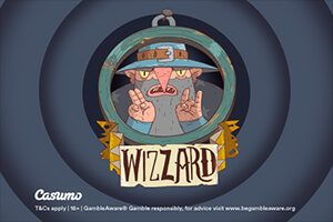 Play Wizzard slot at Casumo Casino exclusively