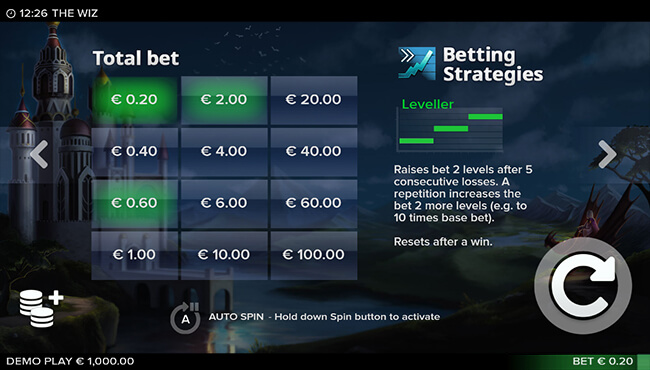 Leveller Betting Strategy