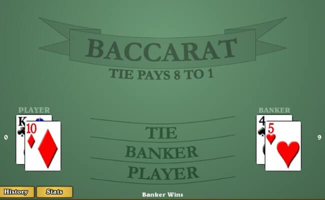 Banker Bet in Baccarat