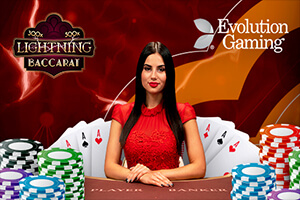 Lightning Baccarat Goes Live at CloudBet Casino Exclusively