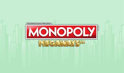Monopoly Megaways logo big